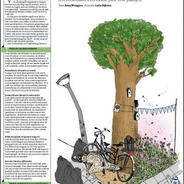 Claim een stukje groen in de bebouwde kom – mijn artikel in NRC