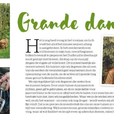Anne nieuwe Editor Gardeners' World NL