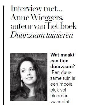 Interview in 'JAN Magazine'