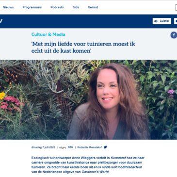 Interview bij 'Kunststof Radio'